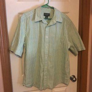Eddie Bauer, short sleeve shirt size large.